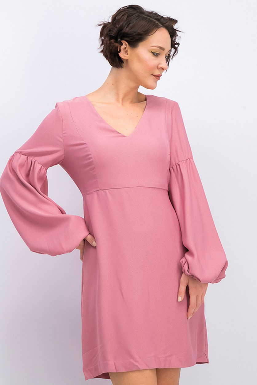 Womens Shift Dress, Blush