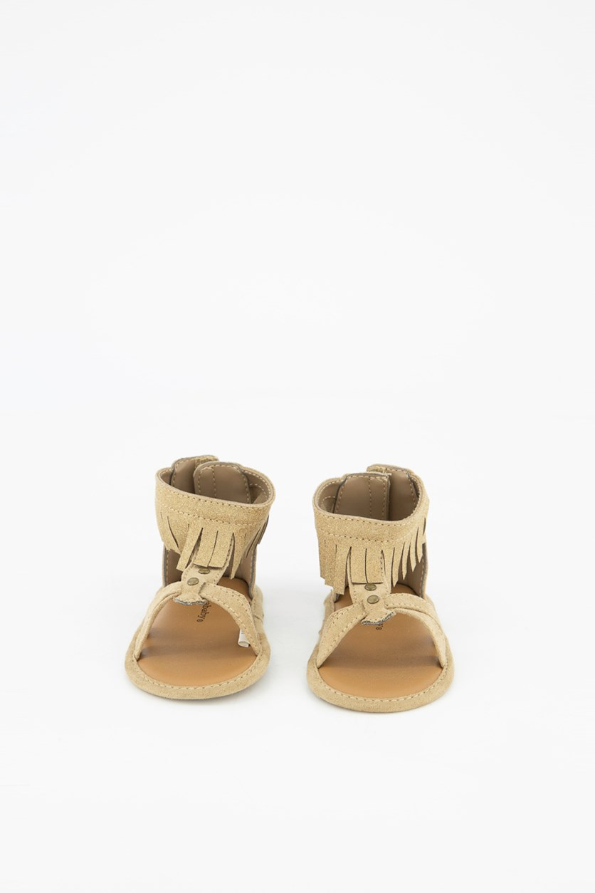 Toddler's Sandals, Tan