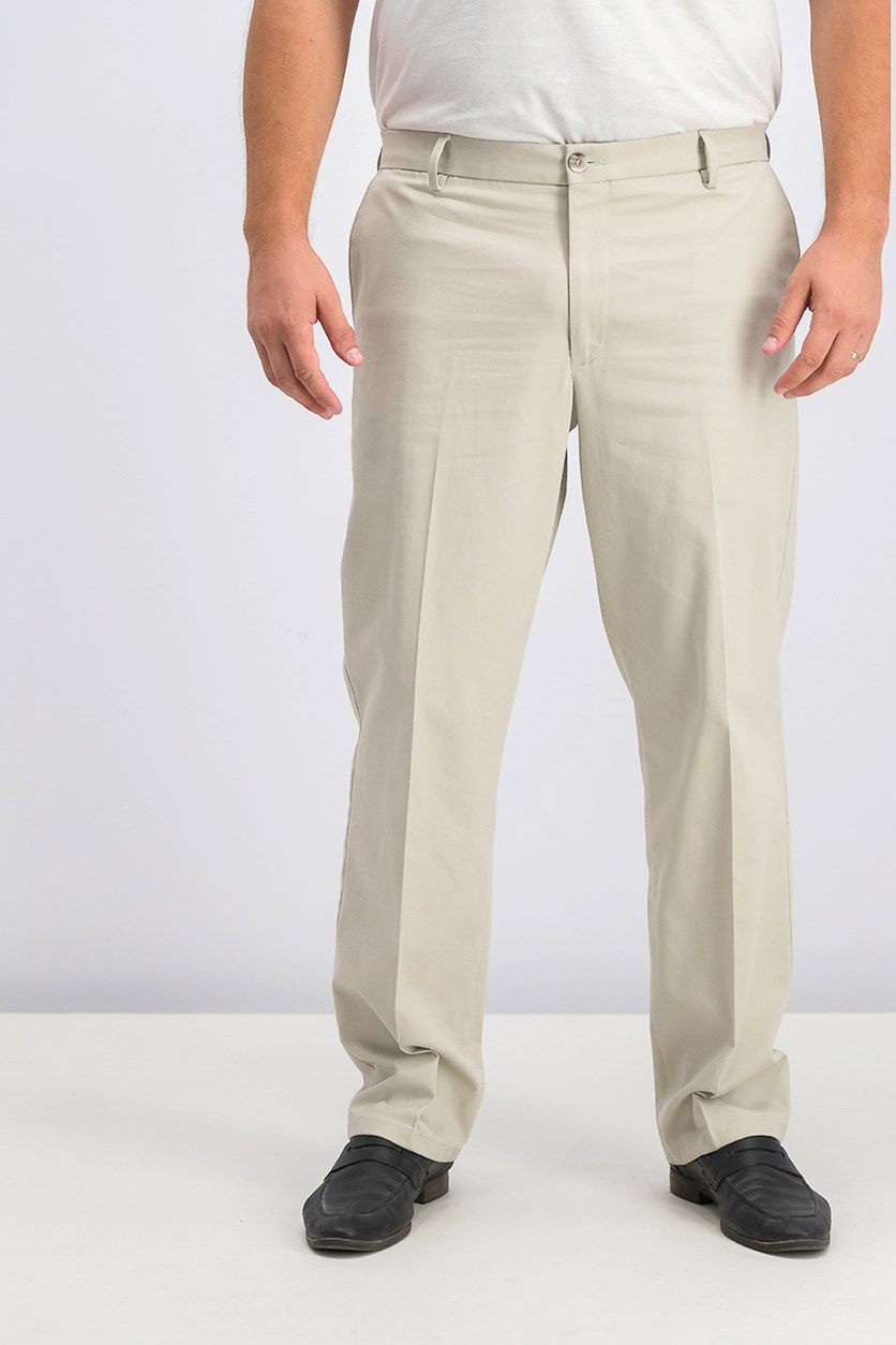 Mens Signature Stretch Pants, Cloud