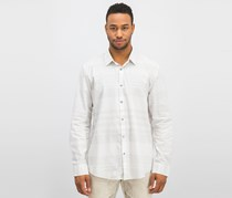 Mens Stripe Shirt, Bright White