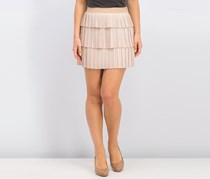 Bcbgmaxazria Zana Pleated Mini Skirt, Bare Pink