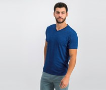 Alfani V-Neck T-Shirt, Hyper Blue