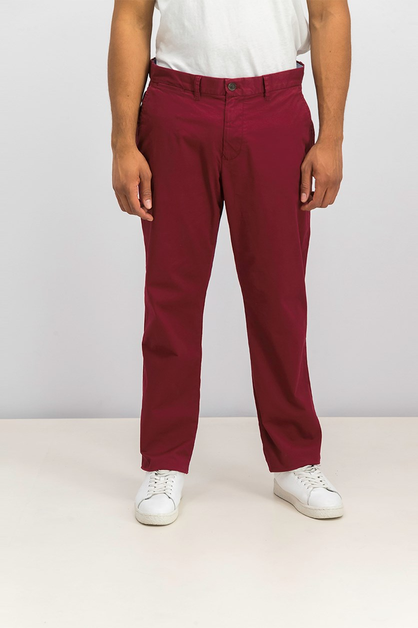 Men's Th Flex Stretch Custom-Fit Chino Pant, Cabernet