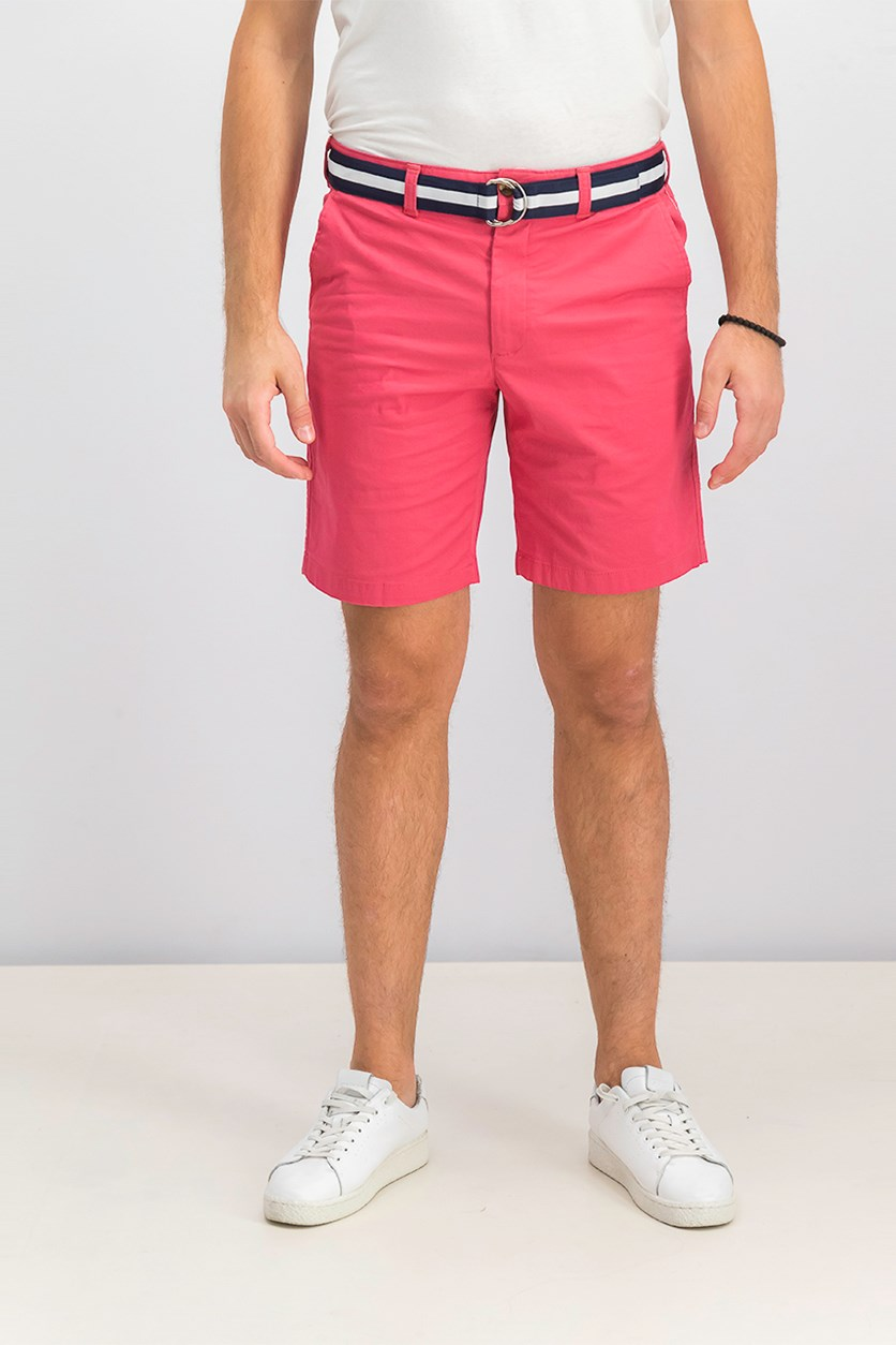 Men's Classic-Fit Stretch Shorts, Summer Melon