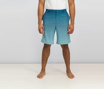 Greg Norman for Tasso Elba Men's Gradient Shorts, Aqua Lake