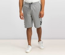 Ideology Mens Heathered Athletic Sweat Shorts, Gray