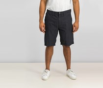 Inc International Concepts Mens Flat-Front Stretch Casual Shorts, Black
