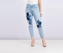 Calvin Klein High Rise Skinny Crop Jeans, Wash Blue