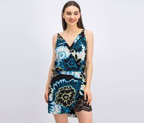 Marciano Vava Bloom Dress, Black Combo