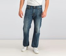 Lucky Brand Relaxed Straight in Wilder Ranch, Wash Blue
