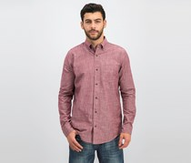 Tailor Vintage Men's Chambray Shirt, Red