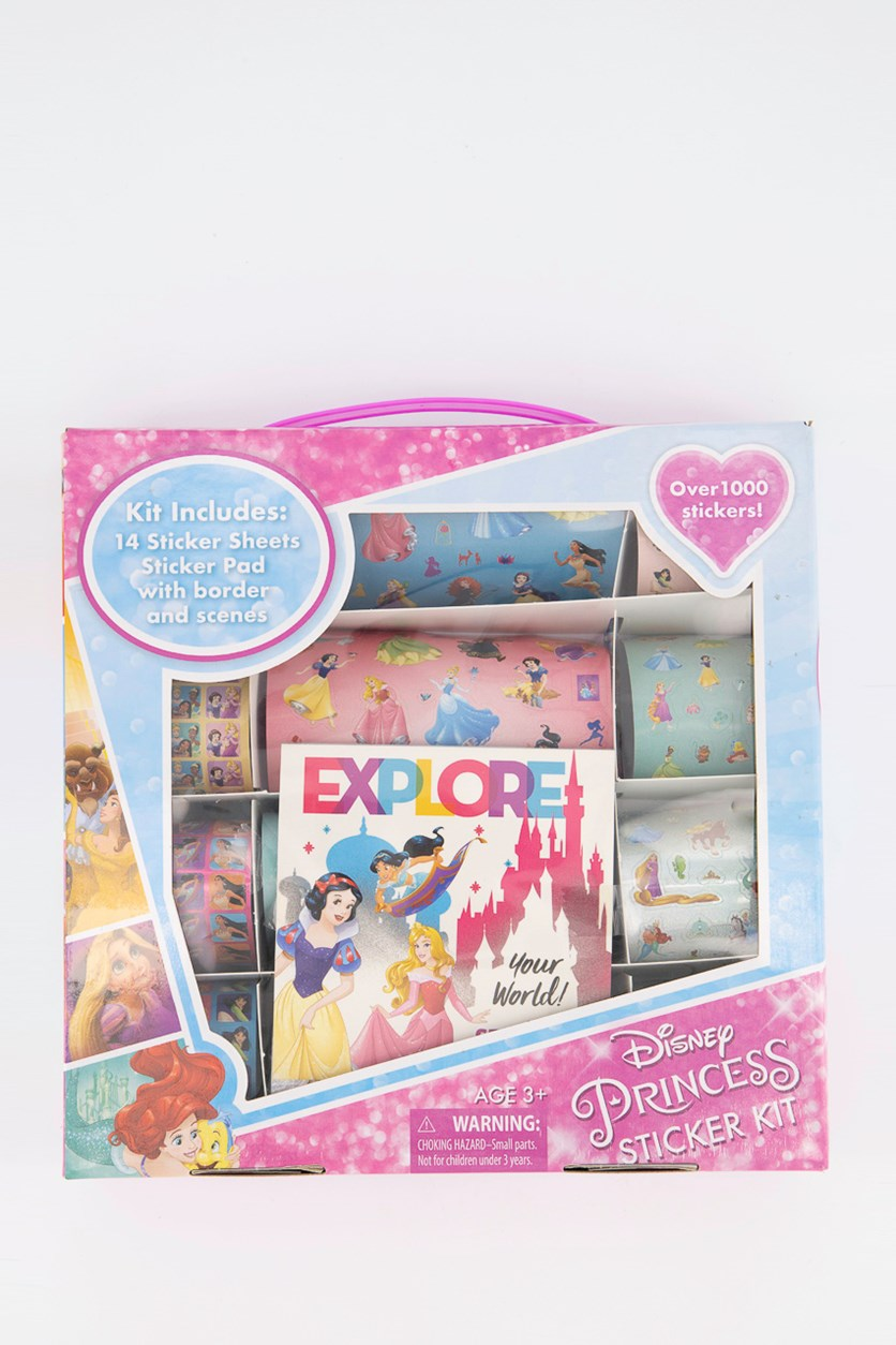 Disney Princess Sticker Kit, Pink Combo