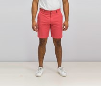 Grayers Avery Cotton Linen Stretch Shorts, Mineral Red