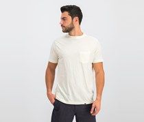 Lost Men's Chest Pocket Tee, Ivory