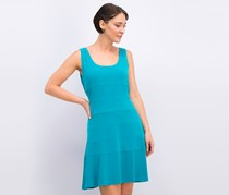 Calvin Klein Women's Fit And Flare Dress, Lagoon