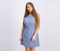 French Connection Womens a-Line Mini Party Dress, Blue