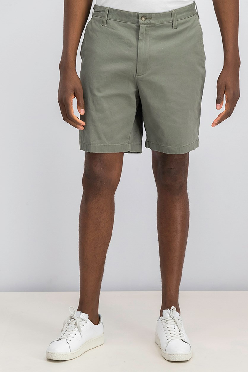 Mens Classic-Fit Stretch Deck Short, Dove Olive