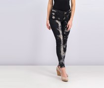 Guess Women's Mid-Rise Power Skinny Jeans, Black