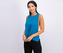 Chain-Back Tops, Teal Blue
