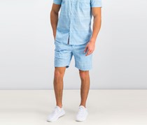 Con. Struct Men's Chambray Shorts, Blue