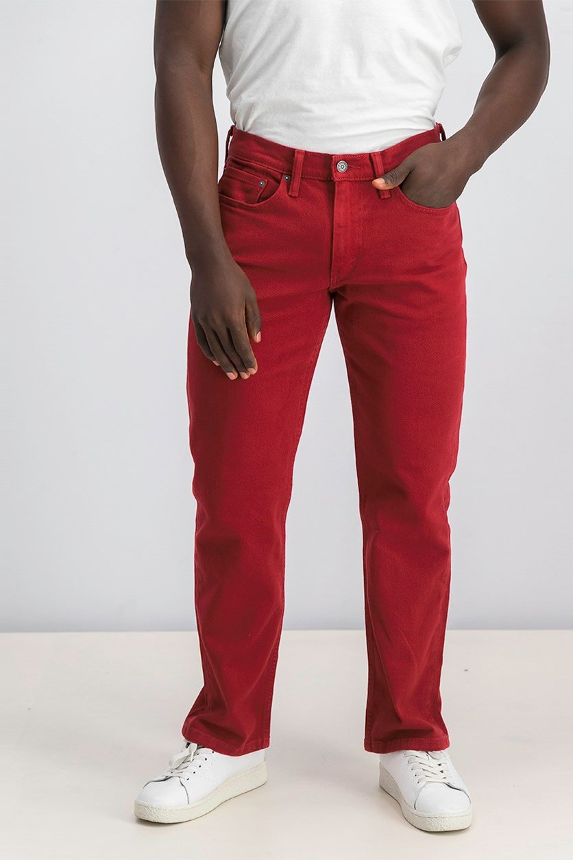 Men's 514 Straight-Fit Jeans, Dried Tomato
