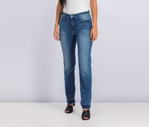 NYDJ Marilyn Straight With Wide Release Hem Jeans, Wishful