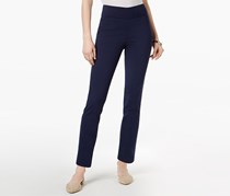 Charter Club Women's Cambridge Pull-On Skinny Ankle Pants, Navy