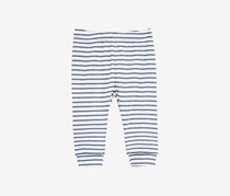 First Impressions Baby Boys Striped Cotton Jogger Pants, Blue/White