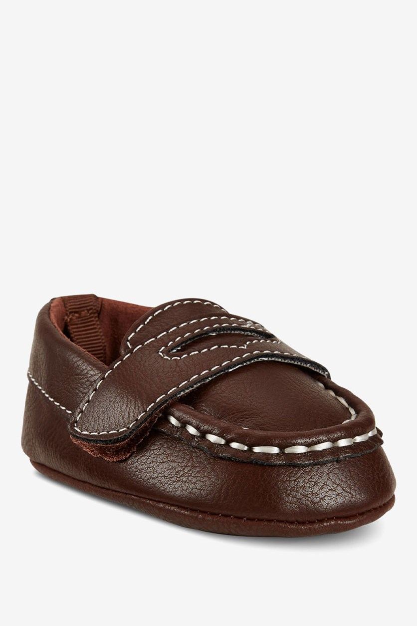 First Impressions Baby Boys Loafers, Dark Brown