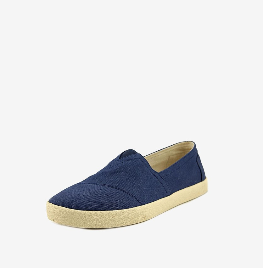 Mens Avalon Sneaker, Dark Denim Canvas