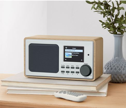 Wi-Fi Internet Radio With Color Screen, Beige