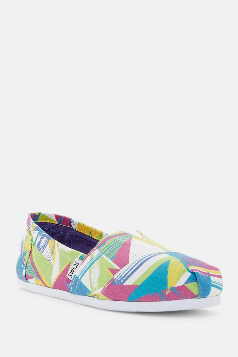 Classic Triangles Slip-On Sneaker, Open Miscellaneous