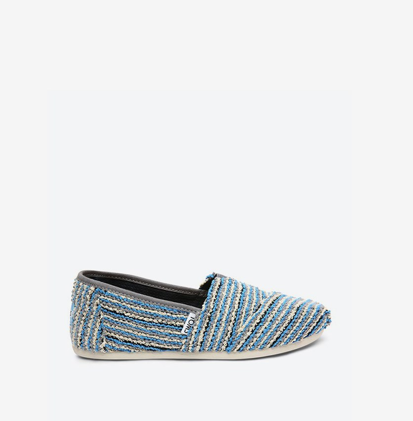 Women's Classic Slip-On Flats, Blue