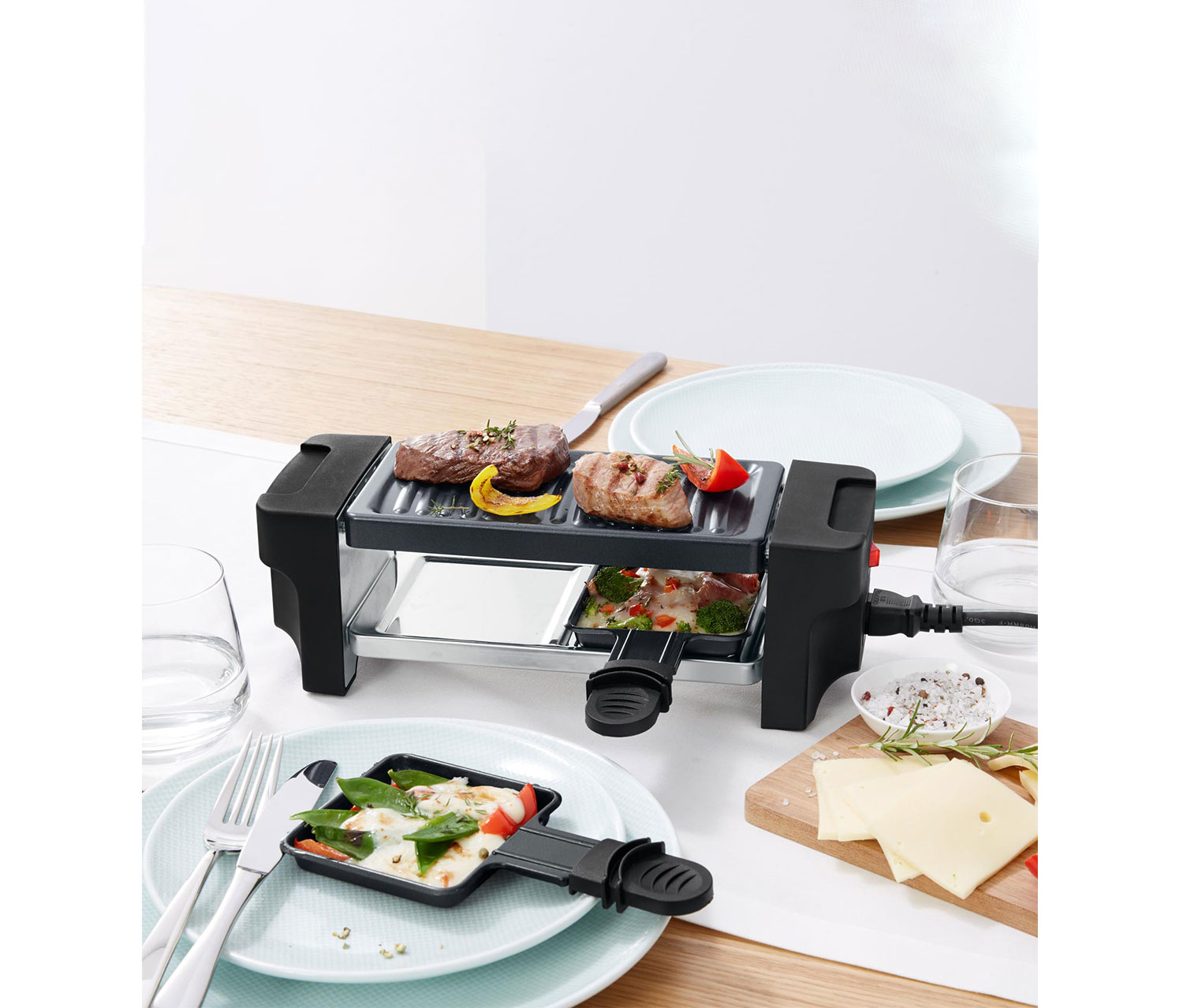 Raclette Grill, Black