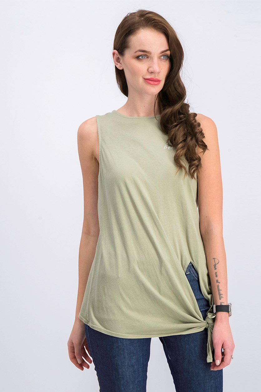 Women's Top, Light Green