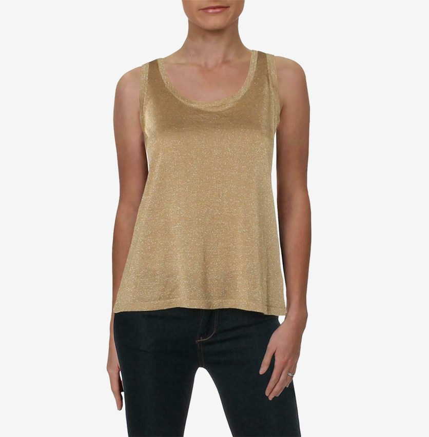 Women's Sleeveless Top, Gold