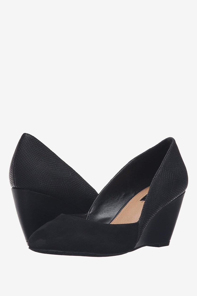 Women's Ta-Palace Wedge Pump, Black