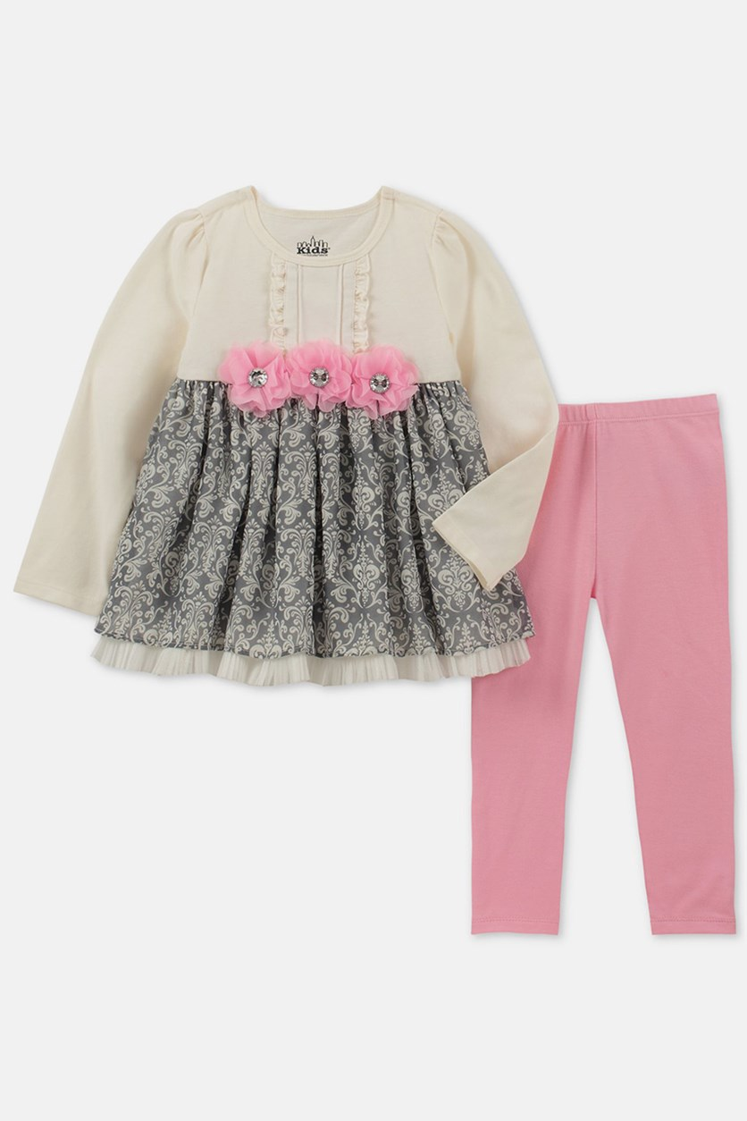 Toddlers Set, Pink/Grey