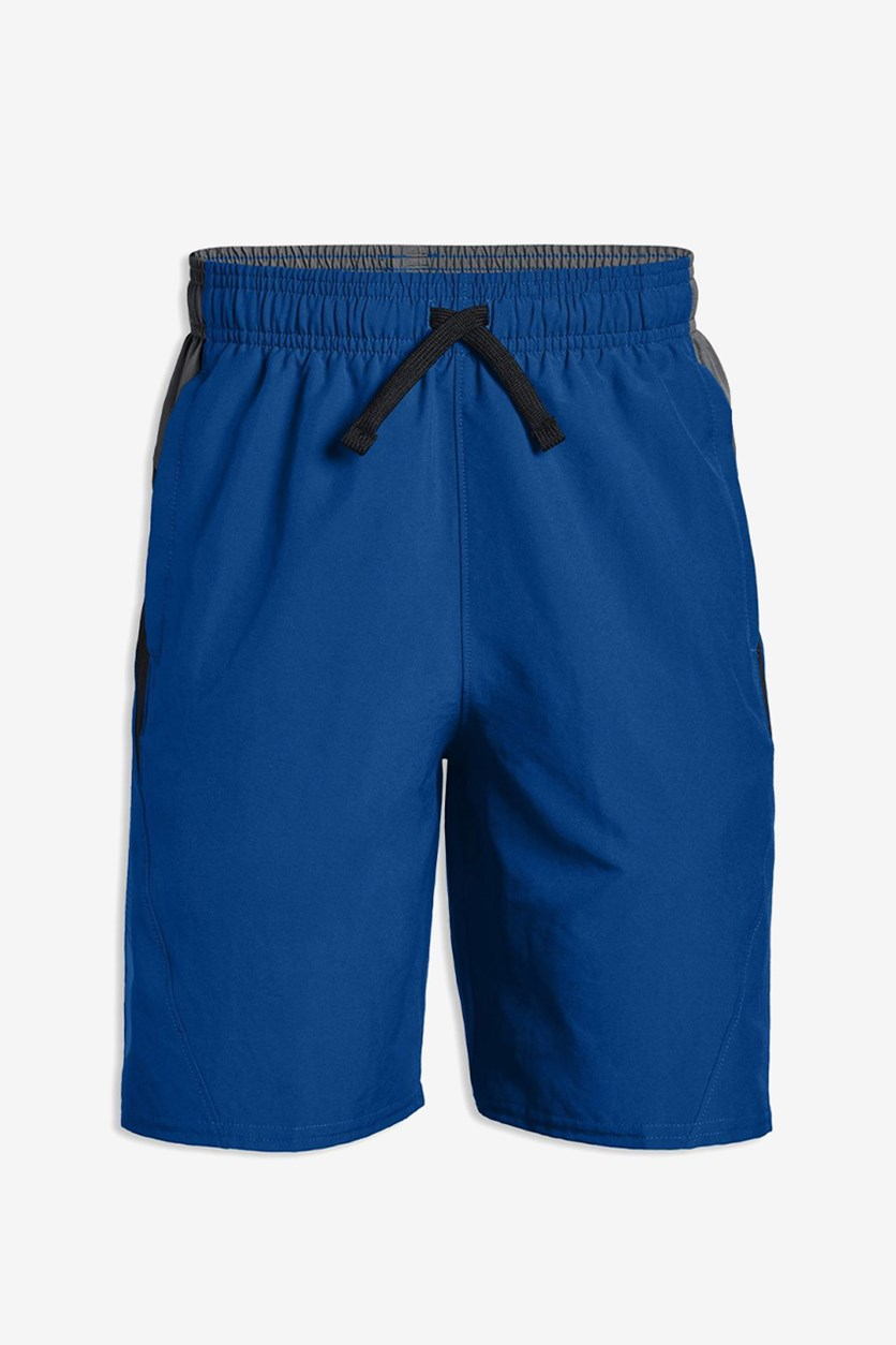 Boys' Evolve Performance Shorts, Blue