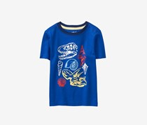 Crazy 8 Toddlers Graphic Tee, Blue