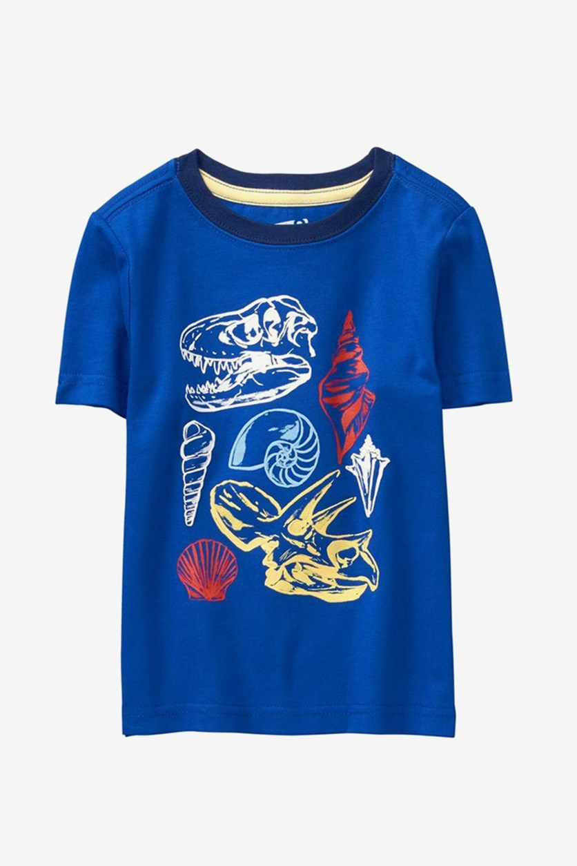 Toddlers Graphic Tee, Blue
