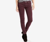 Levi's Women's Colored Wash Skinny Jeans, Purple