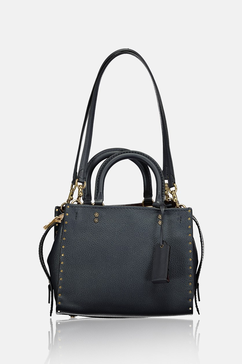 Women's Border Rivets Rogue Bag, Midnight Navy