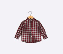 The Children's Place Plaid Shirt, Tango Red
