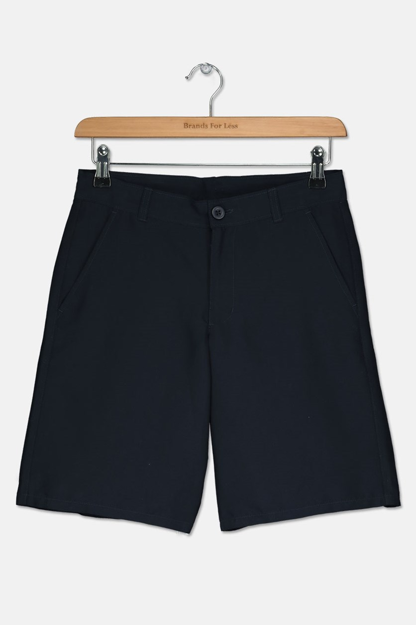 Kids Boys School Uniform Shorts, Navy