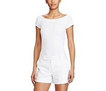 Ralph Lauren Women's Off-Shoulder Tee, White