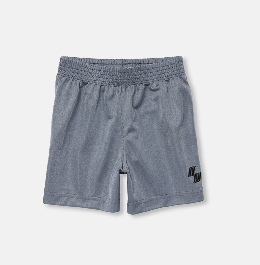 Baby Boys Solid Basketball Shorts, Anchor