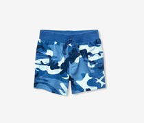 The Children's Place  Baby Boy's Camouflage Short, Blue