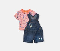 The children's place Toddler Top And Jumper Set, Denim