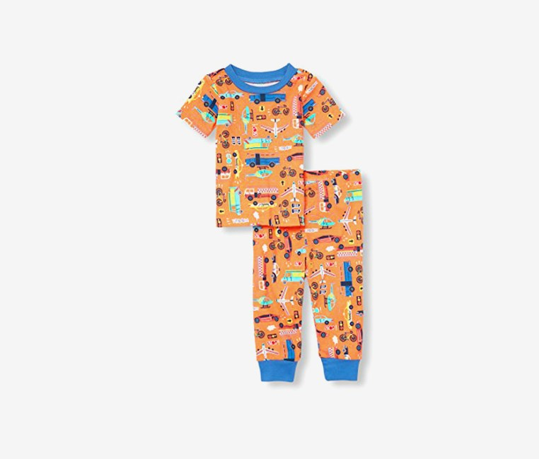 Toddler T-Shirt And Pajama Set, Apricotice